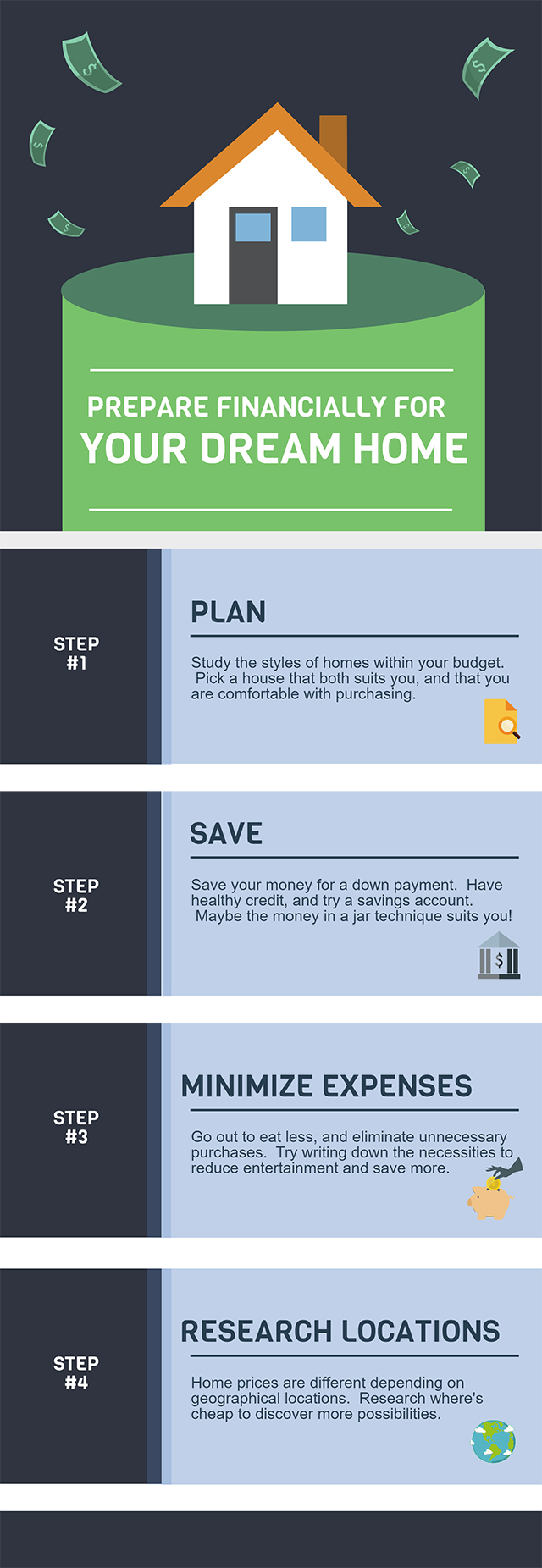 How Much You Need to Own A Home - Infographic