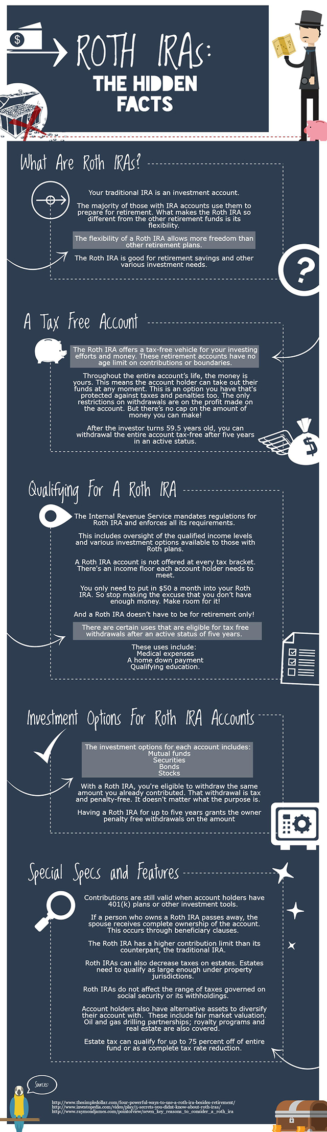 If You Don't Open A Roth IRA Now, You'll Hate Yourself Later - Infographic