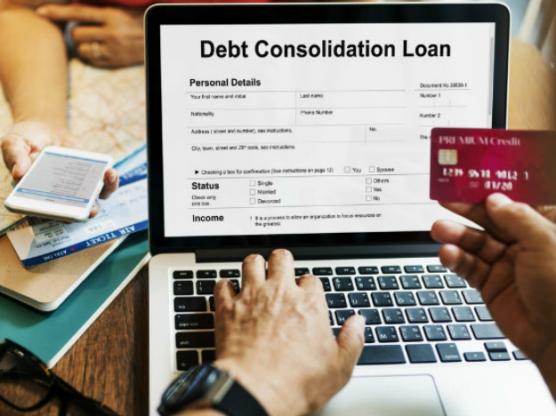 Image result for Credit Card Debt Consolidation Loans